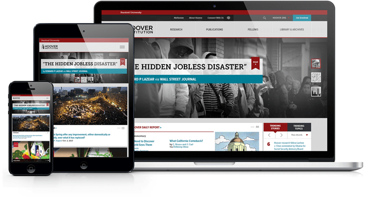 hoover responsive website