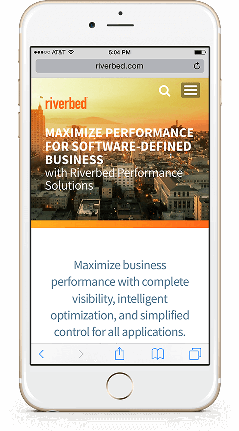 webenertia iphone riverbed device