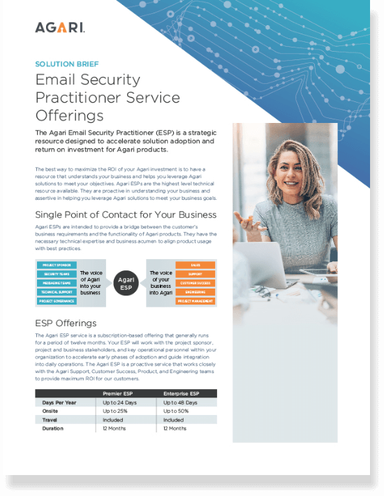 Email Security Practioner Service Offerings