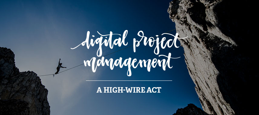 Digital Project Management, a High-wire Act