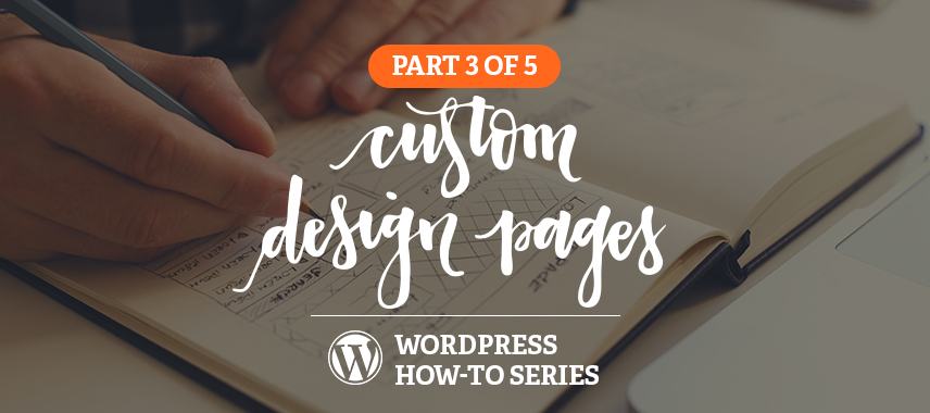 Custom Landing Pages in WordPress How-to Series, Part 3