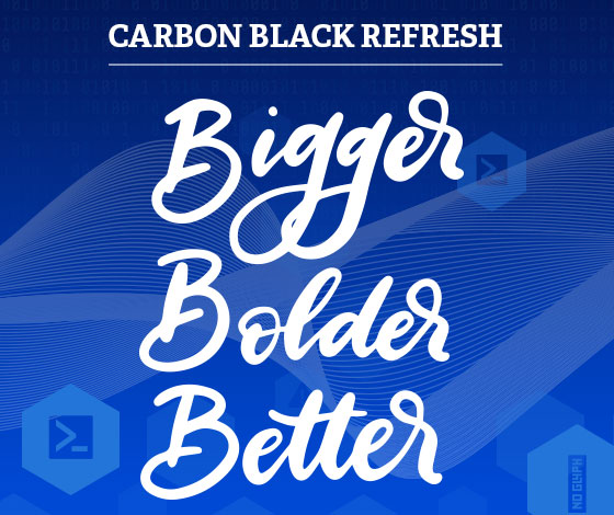 Carbon Black Refresh: Bigger, Bolder, Better