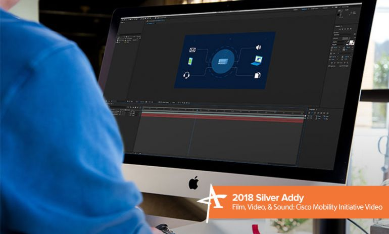 2018 silver addy film, video and sound: cisco mobility initiative video