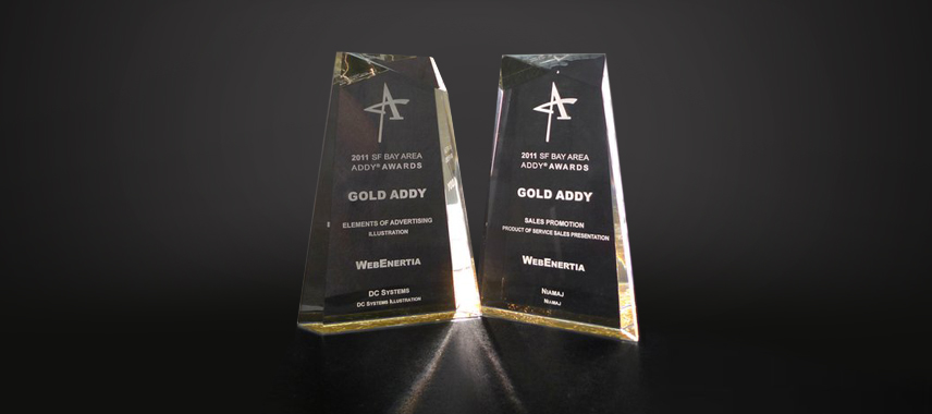 WebEnertia Honored with Eight ADDY Awards