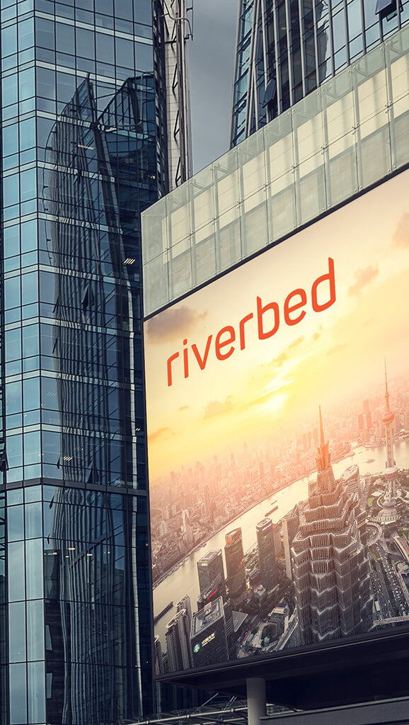 Riverbed Rebrand banner