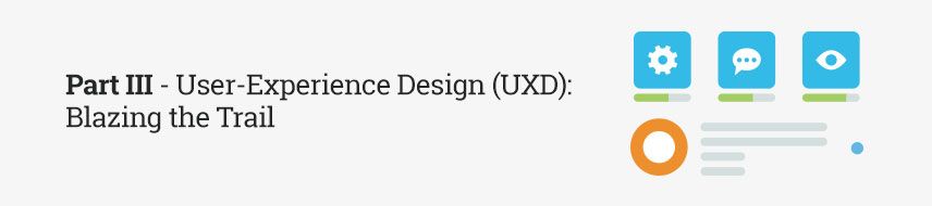 Part III - User-Experience Design (UXD): Blazing the Trail
