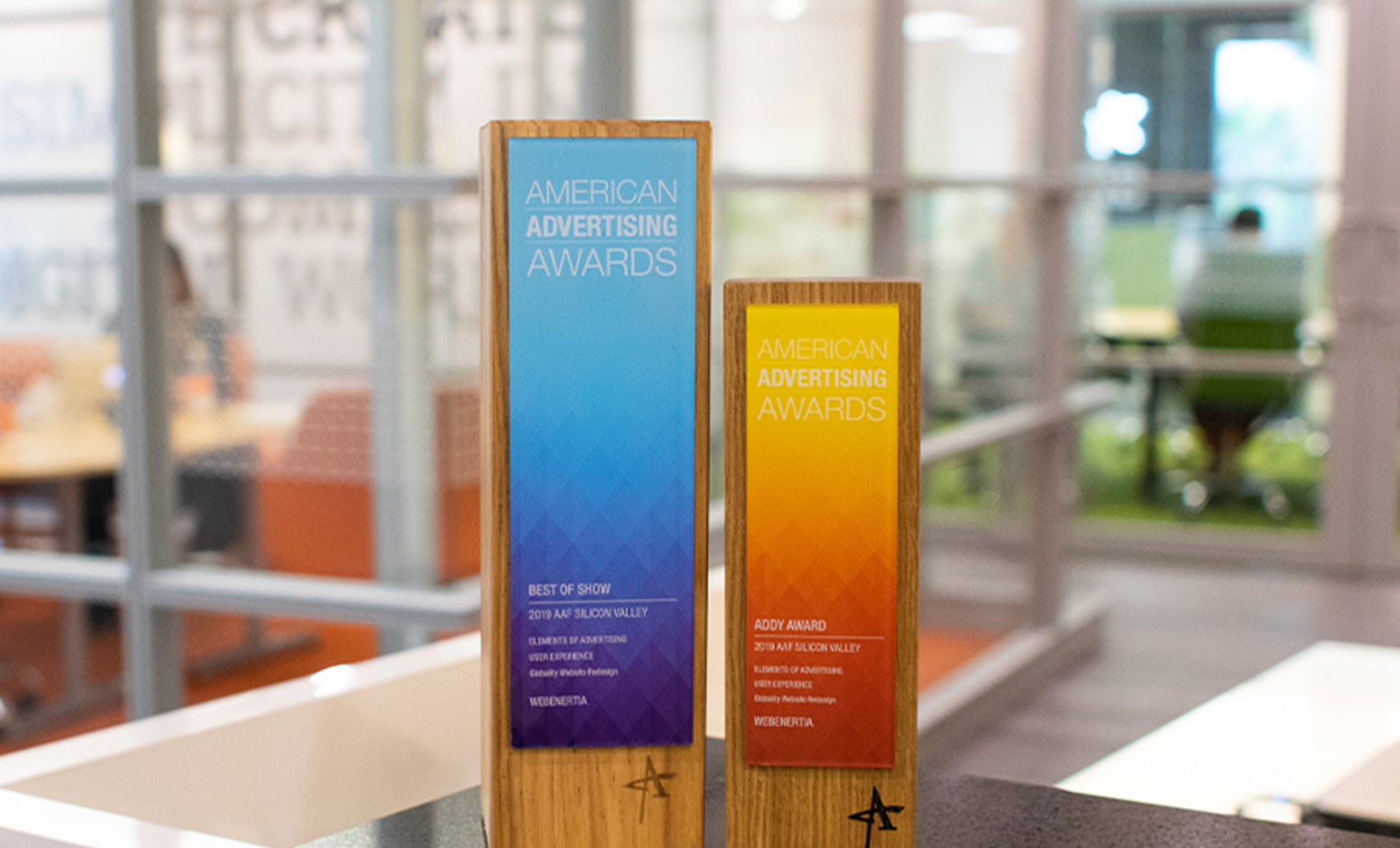 2019 Addy Awards - Best of Show Statue and Addy Award Statue