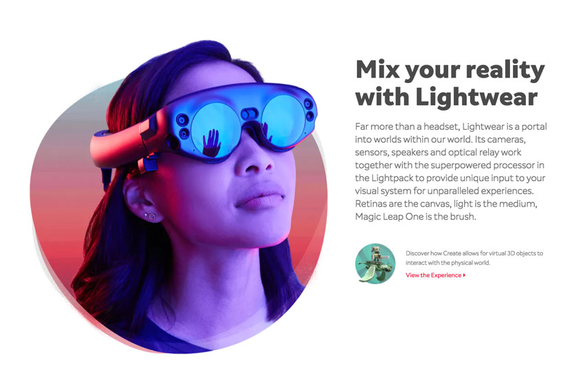 Mix your reality with Lightwear