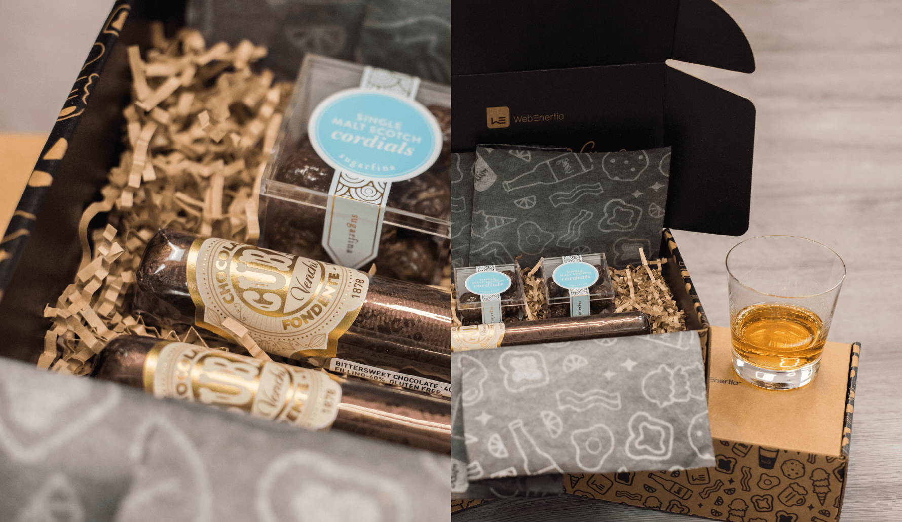 WebEnertia Together We're Better Sugarfina sweets and chocolate cigars